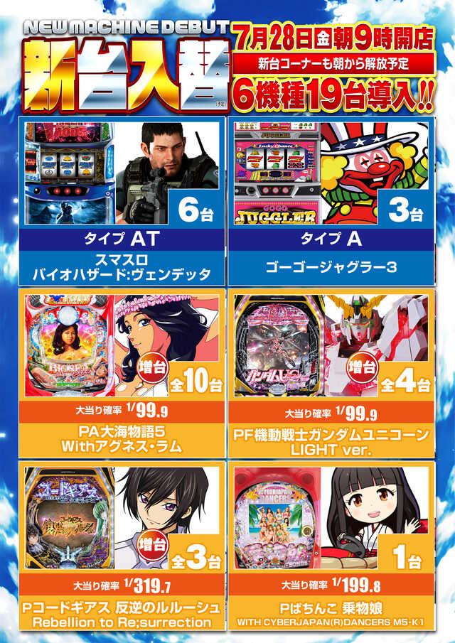 3-7日付有新台入替メインポスター