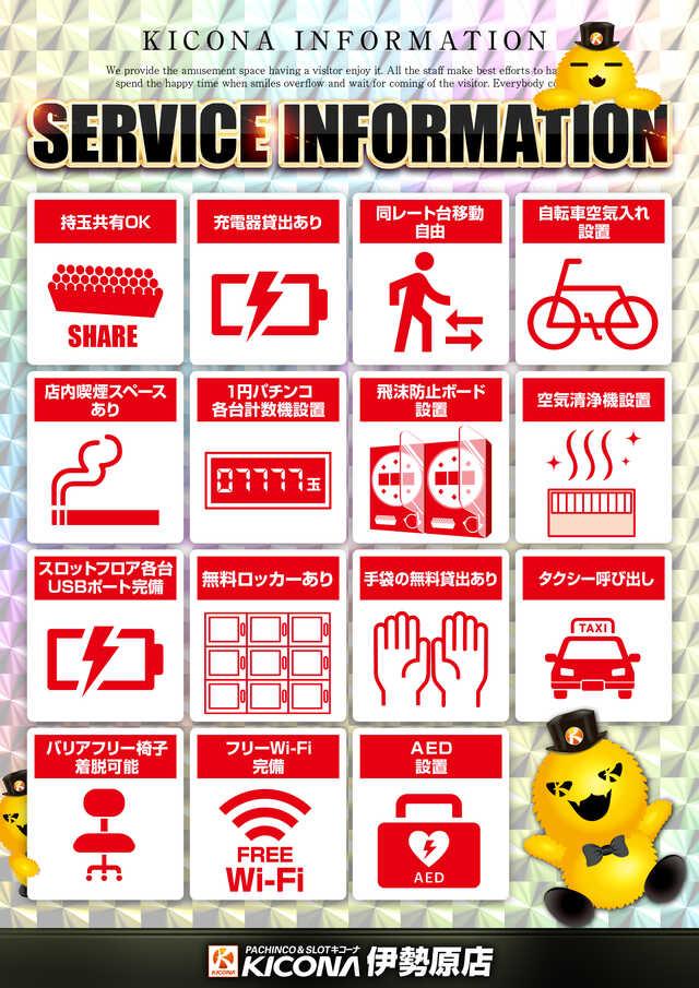 サービスインフォメーション