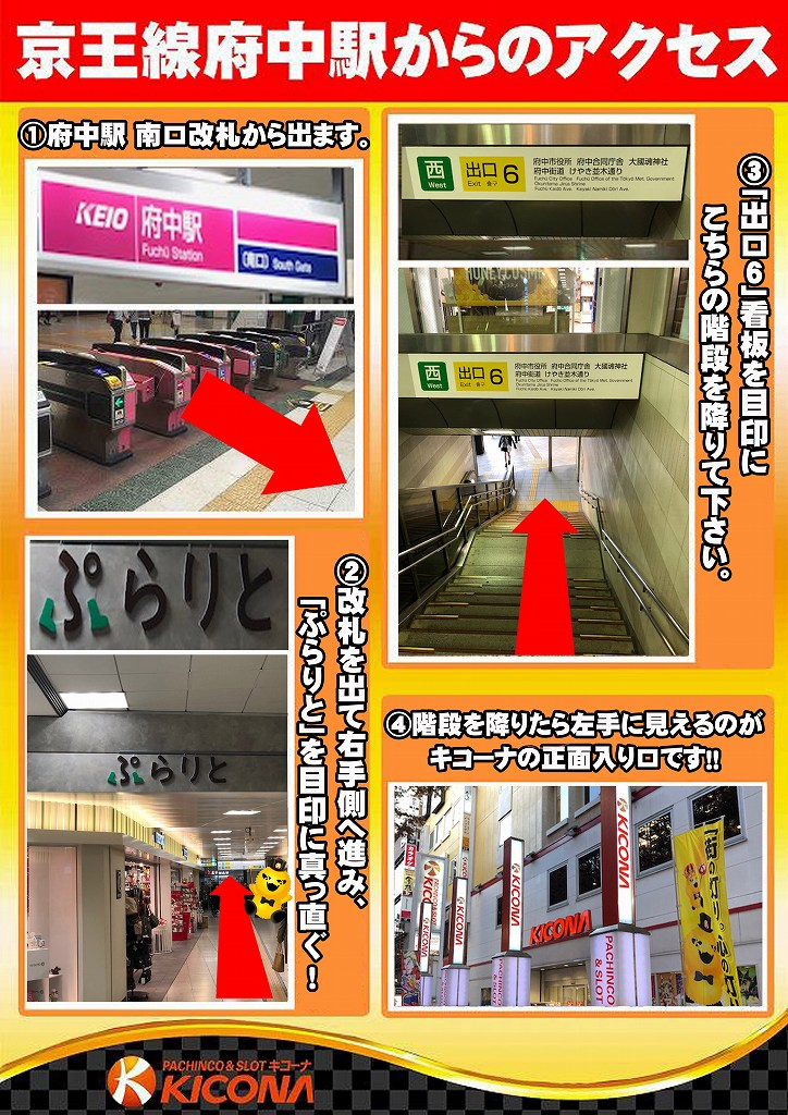 府中駅アクセス