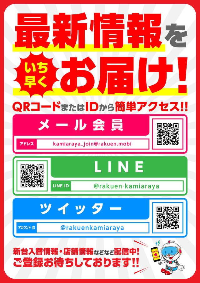 【上新屋】4月20日新台入替ポスター