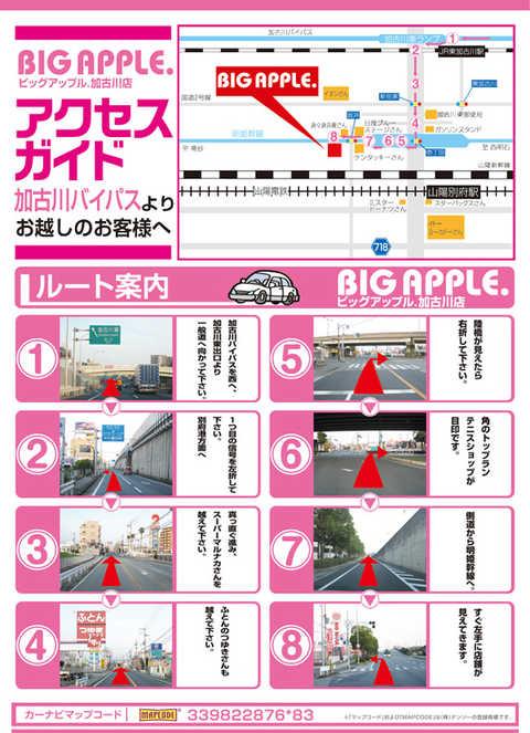 ビッグ アップル 加古川 データ BIG APPLE.加古川店 -