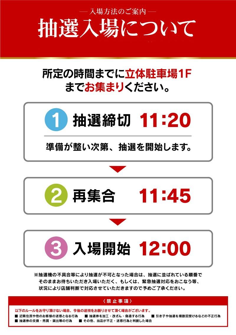 1.27賞品予定