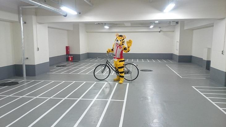 駐輪場トライチ