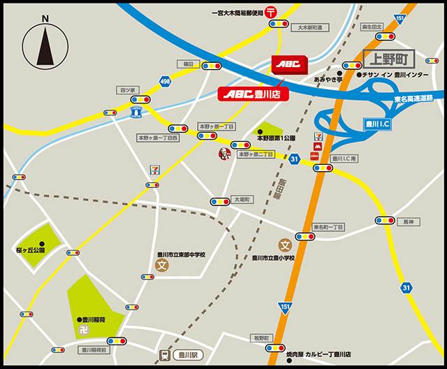豊川MAP