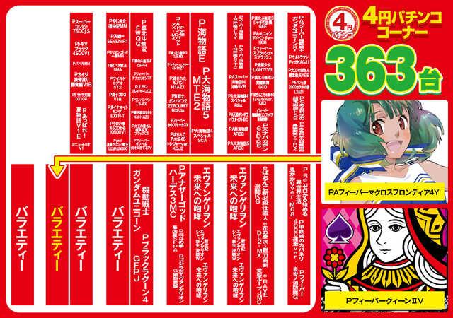 4円パチンコ・フロア