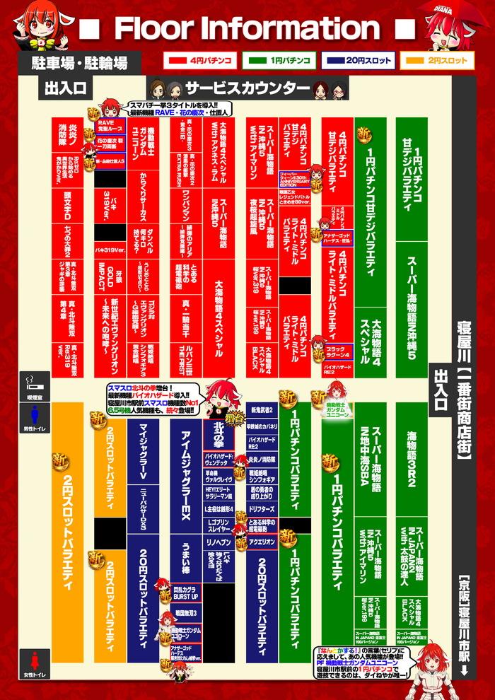 R2.10�円甘デジバラエティ新台